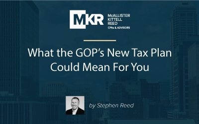 What the GOP's New Tax Plan Could Mean For You