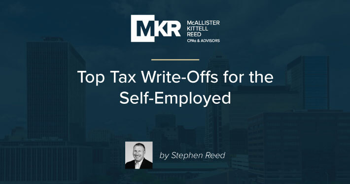 Top Tax Write-Offs for the Self-Employed