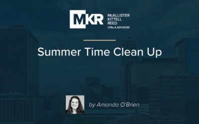 Summer Time Clean Up