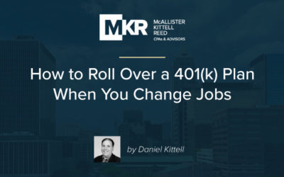 How to Roll Over a 401(k) Plan When You Change Jobs