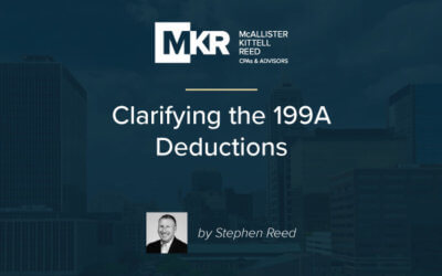 Clarifying the 199A Deduction