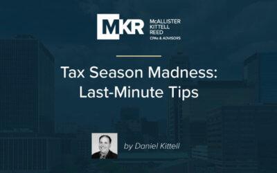 Tax Season Madness: Last-Minute Tips