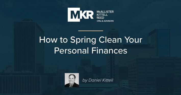 How to Spring Clean Your Personal Finances