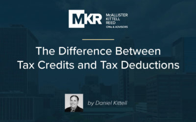 The Difference Between Tax Credits and Tax Deductions