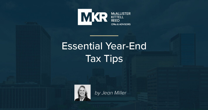 Essential Year-End Tax Tips
