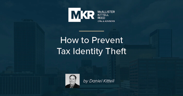 How to Prevent Tax Identity Theft