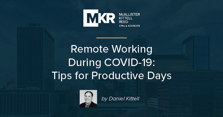Remote Working During COVID-19: Tips for Productive Days