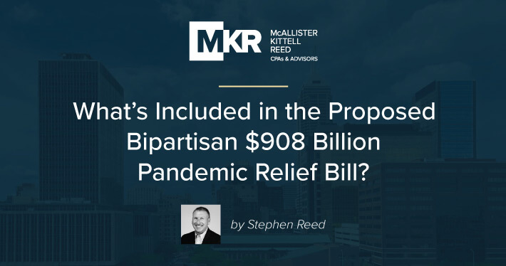 What's Included in the Proposed Bipartisan $908 Billion Pandemic Relief Bill?