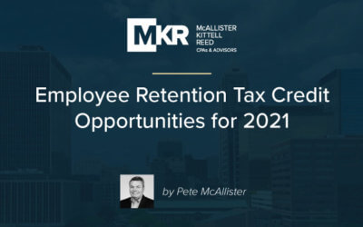 Employee Retention Tax Credit Opportunities for 2021