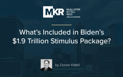 What's Included in Biden's $1.9 Trillion Stimulus Package?