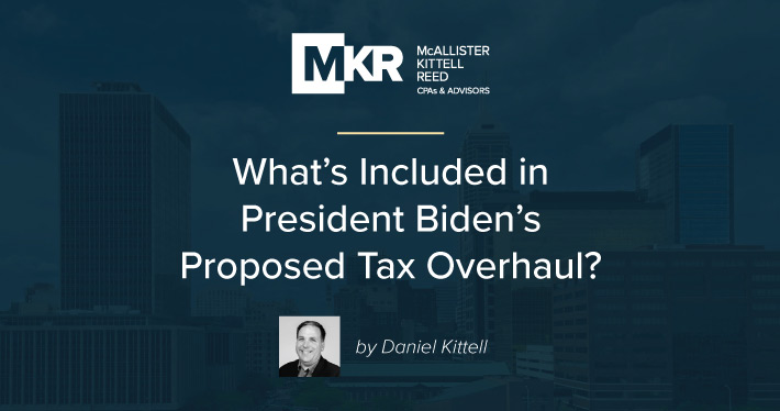 What's Included in President Biden's Proposed Tax Overhaul?